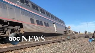 NTSB on scene of deadly train derailment in Montana