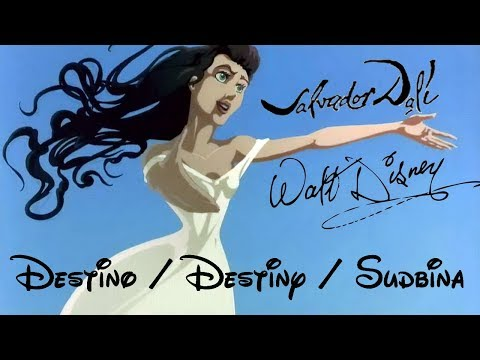 Salvador Dalí & Walt Disney - Destino / Destiny / Sudbina (English Lyrics + srpski prevod)