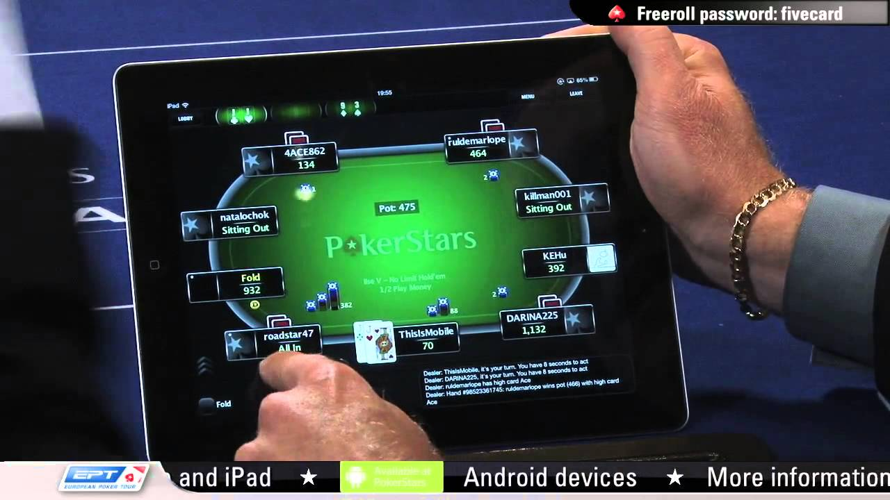 pokerstars app download ios
