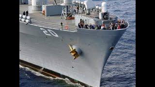 Флагман шестого флота США вош`л в Черное море для учений с Украиной