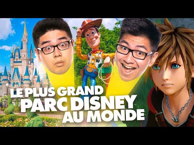 LE PLUS GRAND PARC DISNEY AU MONDE ! (Kingdom Hearts III) - LE RIRE JAUNE