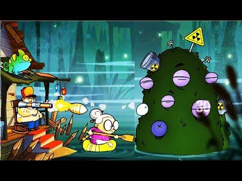БОЛОТНАЯ Атака #24 Мультик Игра для детей Swamp Attack Мульт ИГРА #Мобильные игры