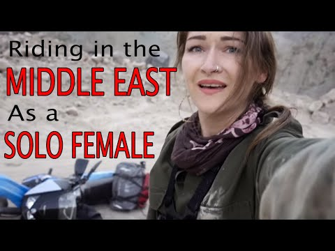 My experience Riding  as a Solo female in the Middle East