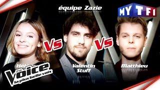 Hélène VS Valentin Stuff VS Matthieu | The Voice France 2017 | Epreuve Ultime