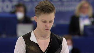 Евгений Семененко Короткая программа Мужчины Чемпионат мира по фигурному катанию 2021