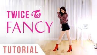 "TWICE - ""FANCY"" Dance Tutorial (Explanation + Mirrored) | Ellen and Brian"