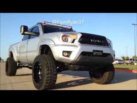 2012 lifted toyota tacoma rolling edit custom