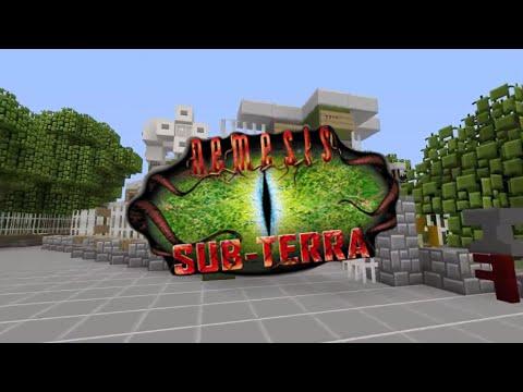Nemesis Sub-Terra | Alton Towers (Minecraft)