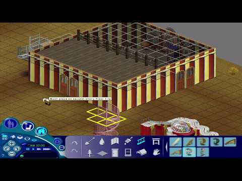 The Sims 1- House Build #5 (Amusement Park 1/2)