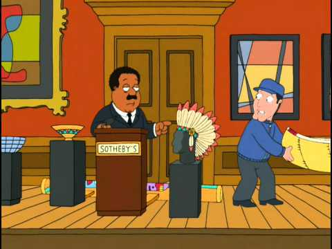 Cleveland Brown auctioneer