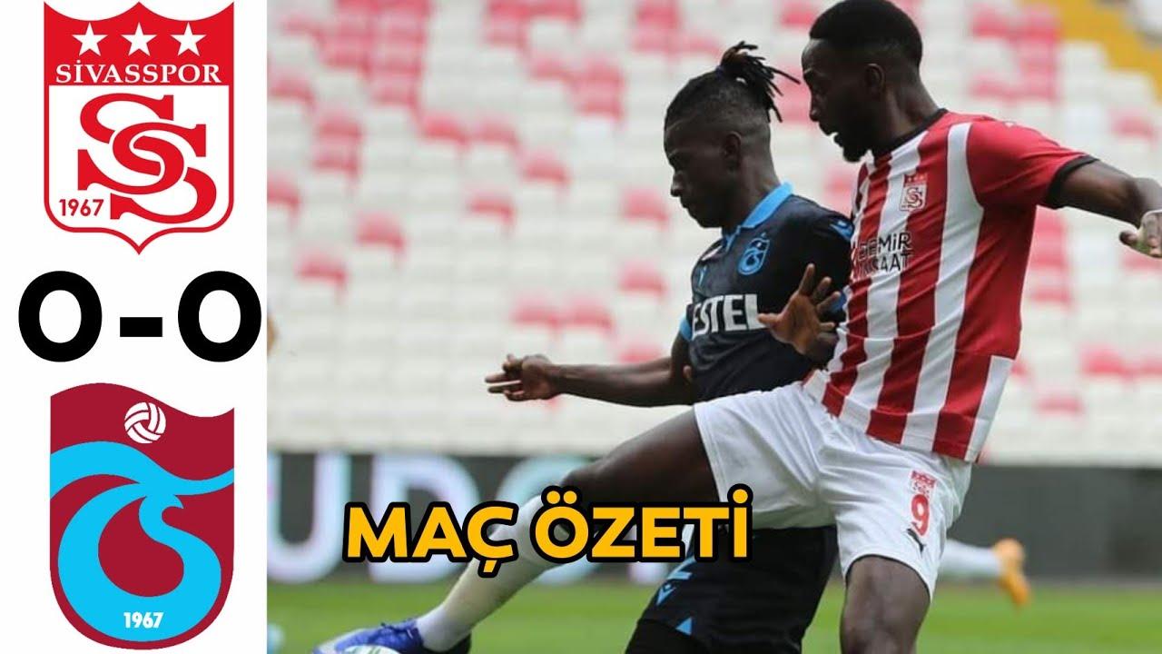 Sivasspor 0 - 0 Trabzonspor | Maç Özeti
