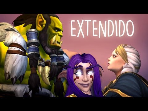 Thrall & Jaina Cinemática EXTENDIDA   Machinima by Tigry  