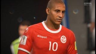 Tunisie vs Angleterre - Coupe du Monde 2018 Russie #01 FIFA 18
