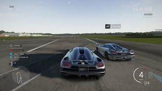 Forza Motorsport 6 Apex Beta - Koenigsegg Agera gameplay vs The Stig & Lexus LF-A gameplay