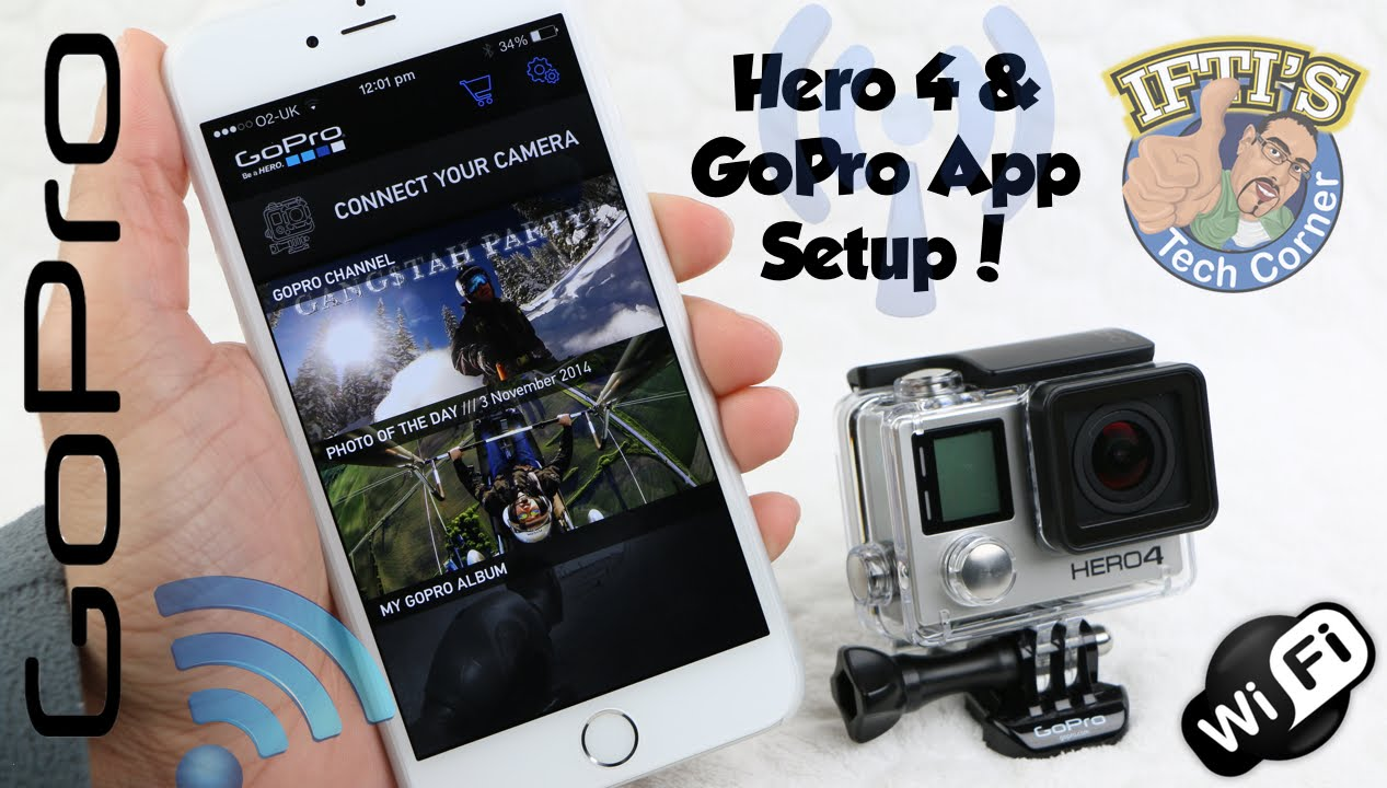 how to use gopro hero 4 silver settings