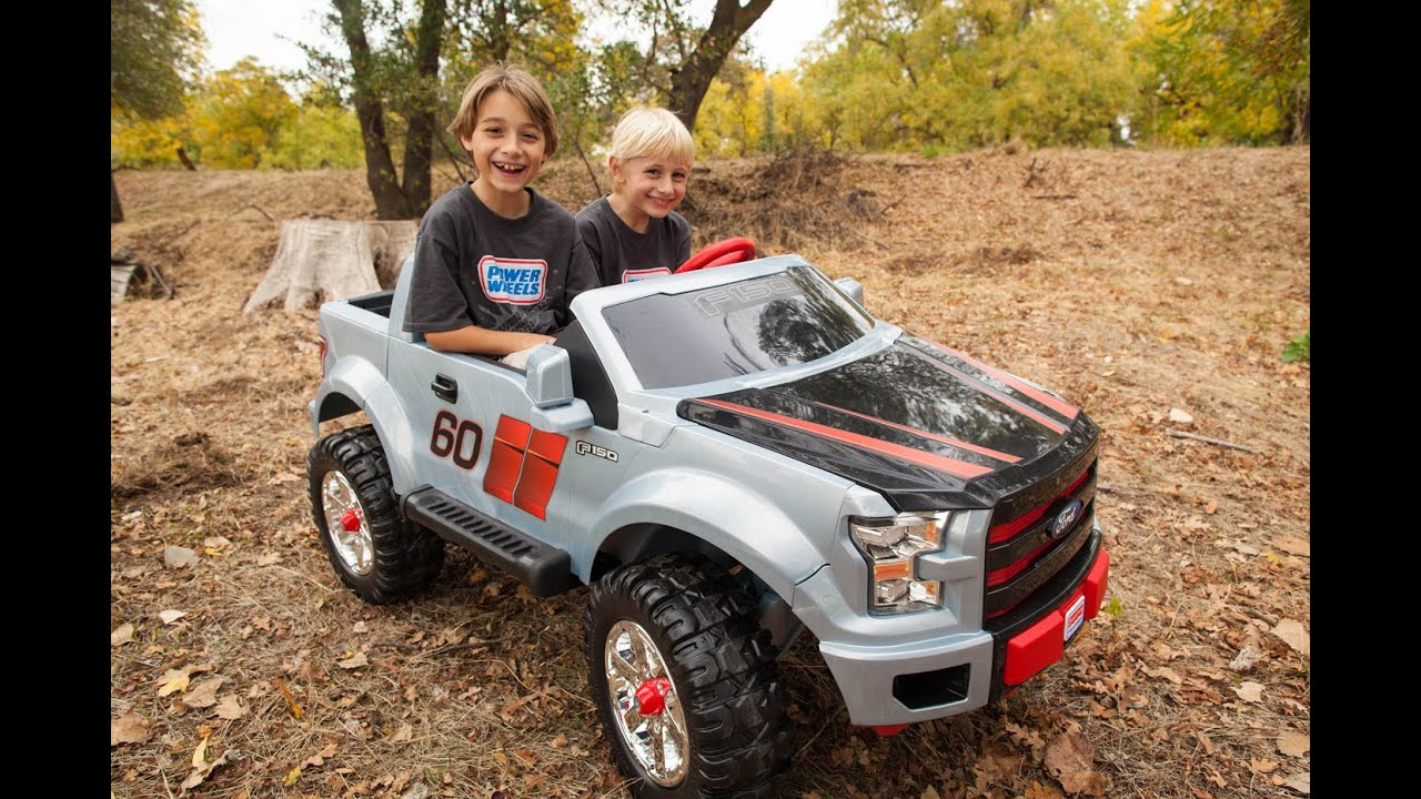 unboxing new 2015 power wheels ford f 150 extreme sport youtube. Cars Review. Best American Auto & Cars Review