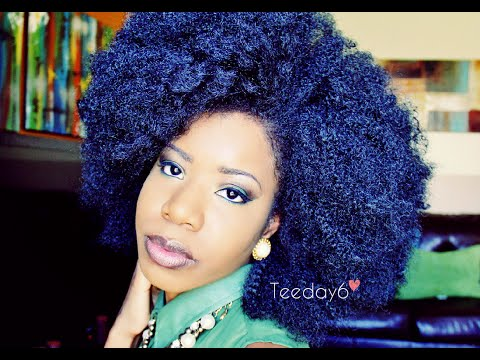 HUGE Kinky Afro Crochet Braids | TEEDAY6