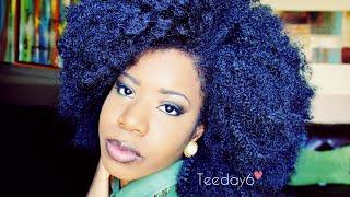 HUGE Kinky Afro Crochet Braids | TEEDAY6