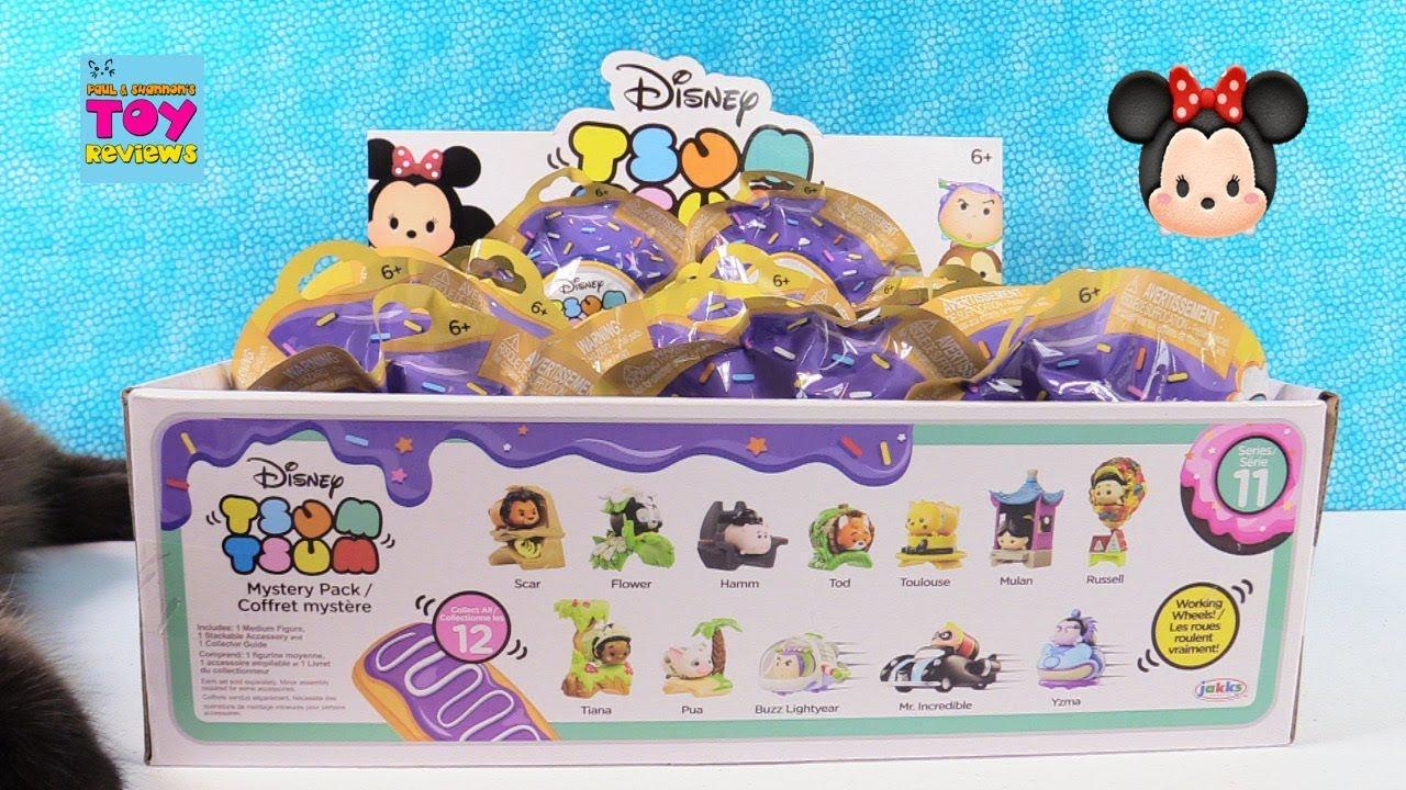 Disney Tsum Tsum Series 11 Mystery Pack Full Set Unboxing