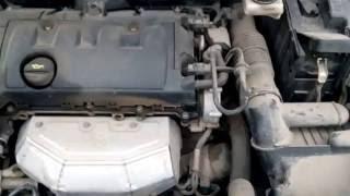 Треск в двигателе пежо 308