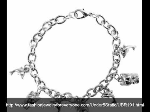Charms Dangling Bracelet