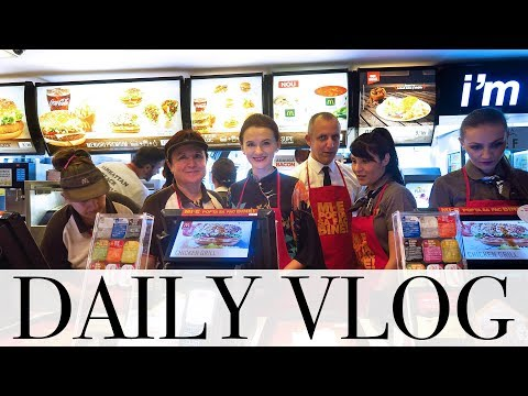 Daily vlog | Crima din Orient Express, Mc'Donalds si vizita