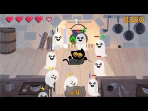 google doodle halloween game 2016 happy halloween youtube