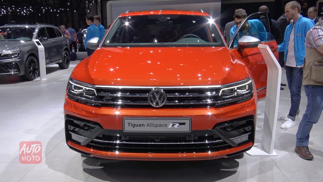 2021 VW Tiguan R-Line – Release Date, Price And Photos >> 2020 Volkswagen Tiguan All Space R Line Exterior And Interior Walkaround 2019 Geneva Motor Show