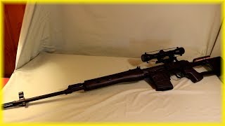 A&K SVD Dragunov Bolt Action Airsoft Sniper Rifle Review