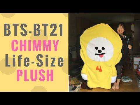 DIY- BTS- BT21 LIFE-SIZE Chimmy Plush