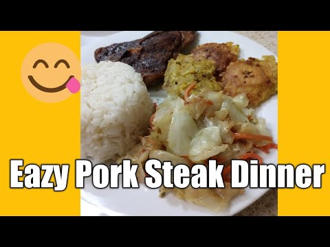 Pork Steak Dinner Recipe