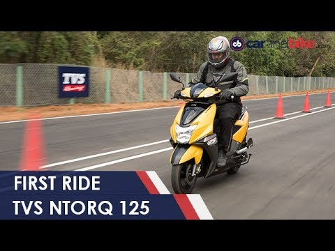 TVS NTorq 125 First Ride | NDTV carandbike