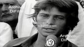 Huracan vs River Plate - Campeonato Metropolitano - Nota a Narciso Doval 1971