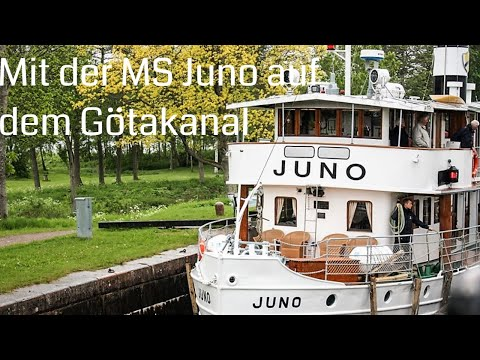 Flusskreuzfahrt auf dem Göta Kanal mit der Juno