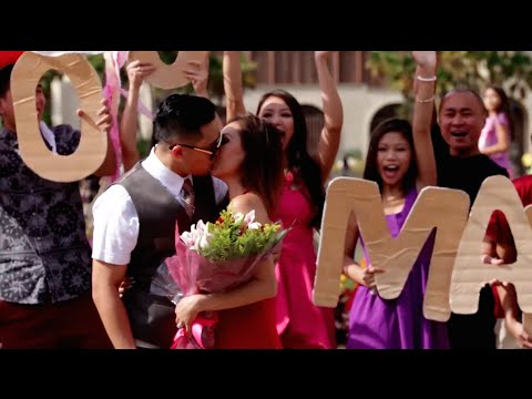 Best Flash Mob Proposal Video Ever By The Yes Girls Events Youtube