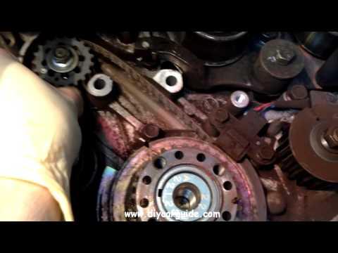 Hyundai Santa Fe 2.0 Petrol, Timing Belt Kit Replacement. Part 2 of 3