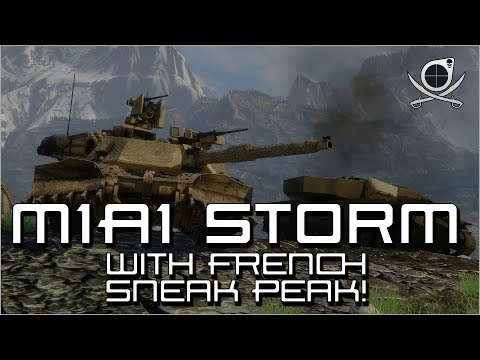 (Armored Warfare) M1A1