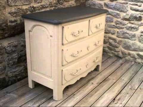 patine blanchie a l 39 ancienne valmour doovi. Black Bedroom Furniture Sets. Home Design Ideas