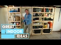 Build Your Own Garage Storage | Indoor  | Great Home Ideas