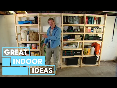 DIY: Build your own garage storage - YouTube