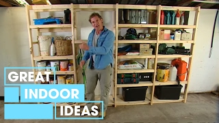 Diy: Build Your Own Garage Storage
