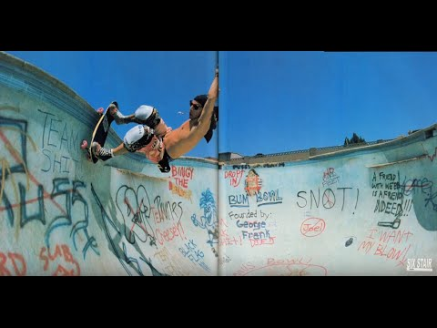 Steve Alba Has Skated More Than 5,000 Empty Pools