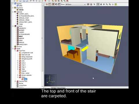 Building a Staircase using PyroSim Translate feature