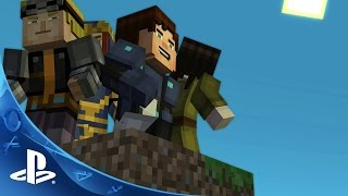 Minecraft: Story Mode - A Telltale Games Series Ep 5: Order Up Launch Trailer | PS4, PS3