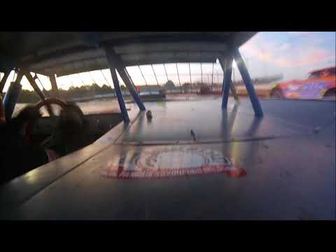 Brett McDonald B-Main Sharon Speedway 7/28/18 In-Car