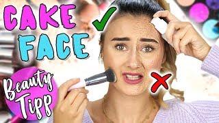 NIE WIEDER CAKE FACE ❌ | Wenn du DIESE Tricks anwendest! | Sara Isabel