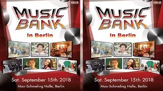 """Music Bank In Berlin"" Brags Powerhouse K-Pop Acts Featuring EXO, SHINee's Taemin, Wanna One & More"