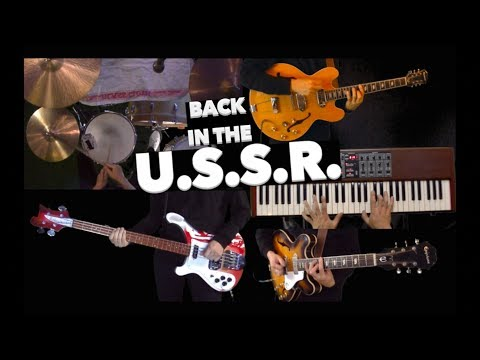 Back in the USSR  Guitars, Drums, Basses and Piano   Instrumental