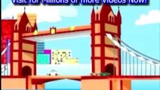 Nursery Rhymes London Bridge is Falling Down with Lyrics Nursery Rhymes for Kids By eMastiDotNet