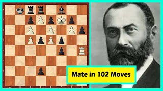 Mate In 102 Moves!